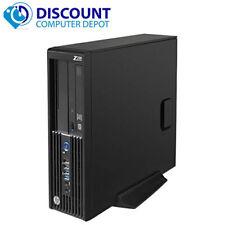 HP Z230 Desktop Computer 3.5Ghz Xeon Workstation PC Windows 10 Pro 8GB 1TB
