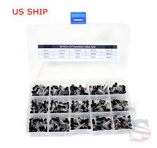 15 value 600pcs Transistor TO-92 Assortment NPN PNP DIY kit