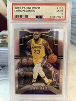 2019-20 Prizm Lebron James PSA 9 MINT #129 Lakers - Invest!