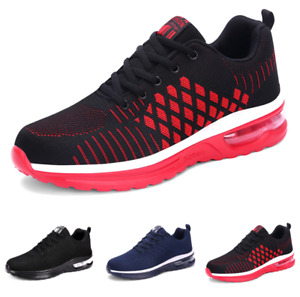 Mens Fashion Sneakers Shoes Gym Outdoor Running Sports Fitness Flats Non-slip D