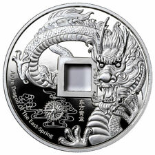 2020 China Vault Protector Azure Dragon of the East 1 oz Silver Proof Medal