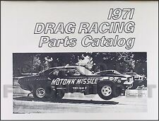1965-1971 Dodge and Plymouth 426 Hemi Engine Drag Race Parts Catalog MoPar