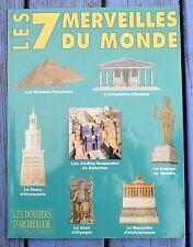 Dossiers d'Archéologie n°202, avril 1995, les 7 Merveilles du Monde antique,