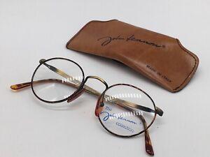 John Lennon JL 02 True Vintage 1980er The Dreamer Rund Panto 49-20 Small + Case
