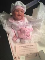 """LEE MIDDLETON REVA SCHICK """"I LOVE YOU BEARY MUCH"""" DOLL #294/1000 In Box 1999"""