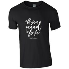 All You Need Is Love Twitter T-Shirt unisex schwarz S Black