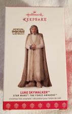 Luke Skywalker Star Wars The Force Awakens 2017 Hallmark Keepsake Ornament (NIB)