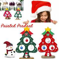 Fj- Cn _ Mini Albero di Natale Tavolo Decor Festa Ornamento Vacanza Forniture