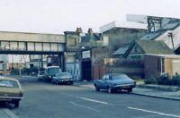 PHOTO  SURREY  BINGHAM ROAD RAILWAY STATION ADDISCOMBE 1983