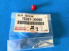 1-PC PACK GENUINE LEXUS GS300,GS400,GS430 CLIP NO-3 OUTSIDE MOLDING 75397-30080