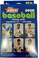 2020 Topps Heritage High Number Hanger Box 27 Cards NEW SEALED chrome bowman