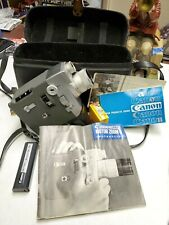 Vintage Canon 8mm Movie Motor Zoom 8 EEE Camera W/ Case 1960s