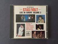 CD THE STAX / VOLT LIVE IN EUROPE volume 3 1967 Thomas Eddie Floyd Otis Redding