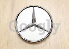 Genuine Mercedes Benz Wheel Center Hub Cap Star Silver Chrome Cover B66470202