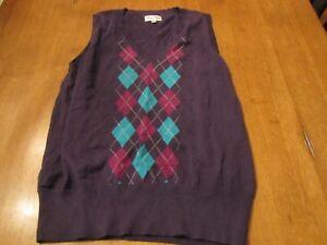 Womens Sport Haley Golf Sweater Vest, NWT, L