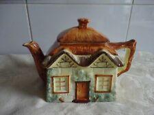 More details for vintage retro keele street pottery cottage ware teapot 14cm tallest