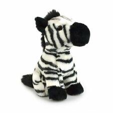 Lil Friends Zebra Plush Soft Toy 18cm Stuffed Animal by Korimco