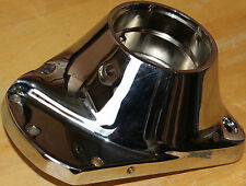 """Harley Chrome Cam Cover Fits 1973-1992 Shovelhead & 80"""" Evo Quality Motor #422"""