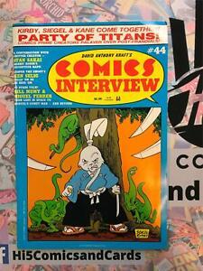 Comics Interview 44 1987 Comic Albedo #2 1984 Usagi Yojimbo