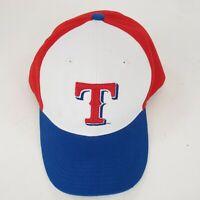 MLB Texas Rangers Snapback Baseball Hat Trucker Cap Red/White/Blue