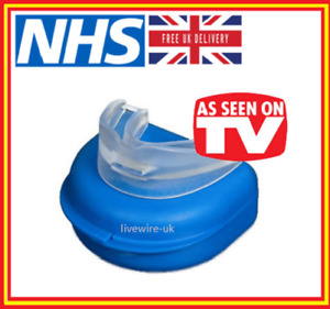 NHS THE ANTI-SNORE WIZARD - STOP SNORING AID MANDIBULAR MOUTHPIECE SNORE DEVICE