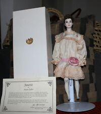 Fawn Zeller Doll Janette With Box & Coa 1991 Ufdc New Orleans Convention
