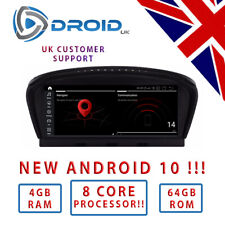 "BMW E60 E61 E62 E63 * Android 10 * 8 CORE - 4GB - 64GB - 8.8 "" 5 6 SERIES ID7"