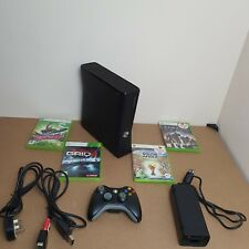 Xbox 360 S 4GB Console Bundle With 4 Games And Wired Controller