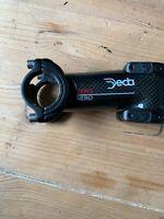 Potence Deba Zero Nero Carbone / carbon bike stem / 31,8 / 100 Mm / 82°