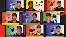 2017 Rochester Red Wings complete UPDATE traded team set 30 cards SGA 1000 made