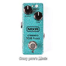 Dunlop MXR Mini Classic 108 Fuzz M296 Effects Pedal