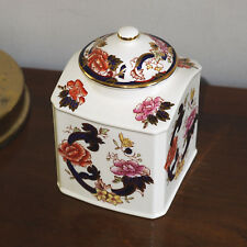 MASONS MASON'S MANDALAY TEA CADDY LIDDED JAR chinese shape
