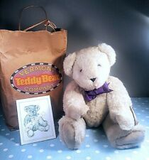 Vermont Teddy Bear Co. 1991 . Nwt .original bag .Made in America . Vintage