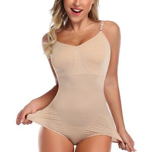 Ladies Women Seamless Full Body Shaper Tummy Control Shapewear Slimming Bodysuit