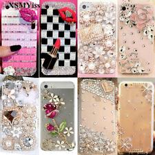 For Samsung Galaxy S21 S20 S10 Note20 Note9 Luxury Rhinestone Bling Diamond Case