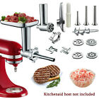 16pcs Food Meat Grinder Attachment for Kitchen Aid Stand Mixer Sausage Beef Home photo