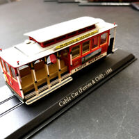 New 1/87 HO Scale Railway Cable Car (Ferries & Cliff) - 1888 Train Plastic Model