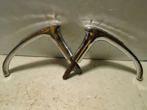 1941 Canadian Chevy Truck Exterior Outside Chrome Door Handles NOS OEM Canada
