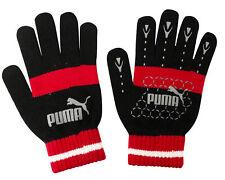 Puma No 1 Logo Cat Magic Winter Unisex Gloves 7G Black Red 041504 03