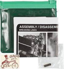 SHADOW CONSPIRACY INTERLOCK V2 BLACK BMX BICYCLE HALFLINK CHAIN PIN