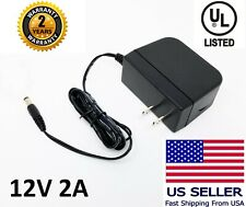 AC 100-240V to DC 12V 2A Power Supply Adapter Heavy-duty With 2 Years Warranty