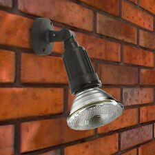 5 x Alto Ip44 Outdoor Wall Garden Patio Spot Flood Light Black Rainproof 100W