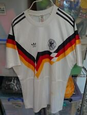 Vintage Adidas Original 1990 West Germany Home Jersey