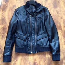 Womens Ladies Biker Jackets Coats Size 12