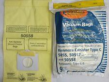 9 Kenmore Vacuum Bags 5055 50557  50558 Panasonic C-5 BRAND NEW SEALED PRODUCT!