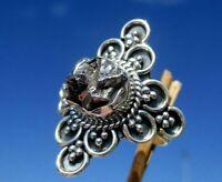 Meteorit Campo del Cielo , Argentinien Ring Gr. 16,75 - Silber 925 !