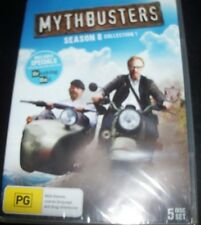 Mythbusters Season 8 Collection 1 (Australia Region 4) 5 DVD – New