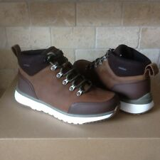 UGG OLIVERT GRIZZLY BROWN WATERPROOF LEATHER HIKER SNOW BOOTS SHOES SIZE 9.5 MEN