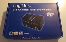 LogiLink 7.1 Channel USB Surround Sound Box - externe Soundkarte OVP