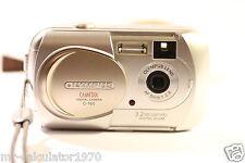Olympus CAMEDIA 160 3.2MP Digital Camera - Silver